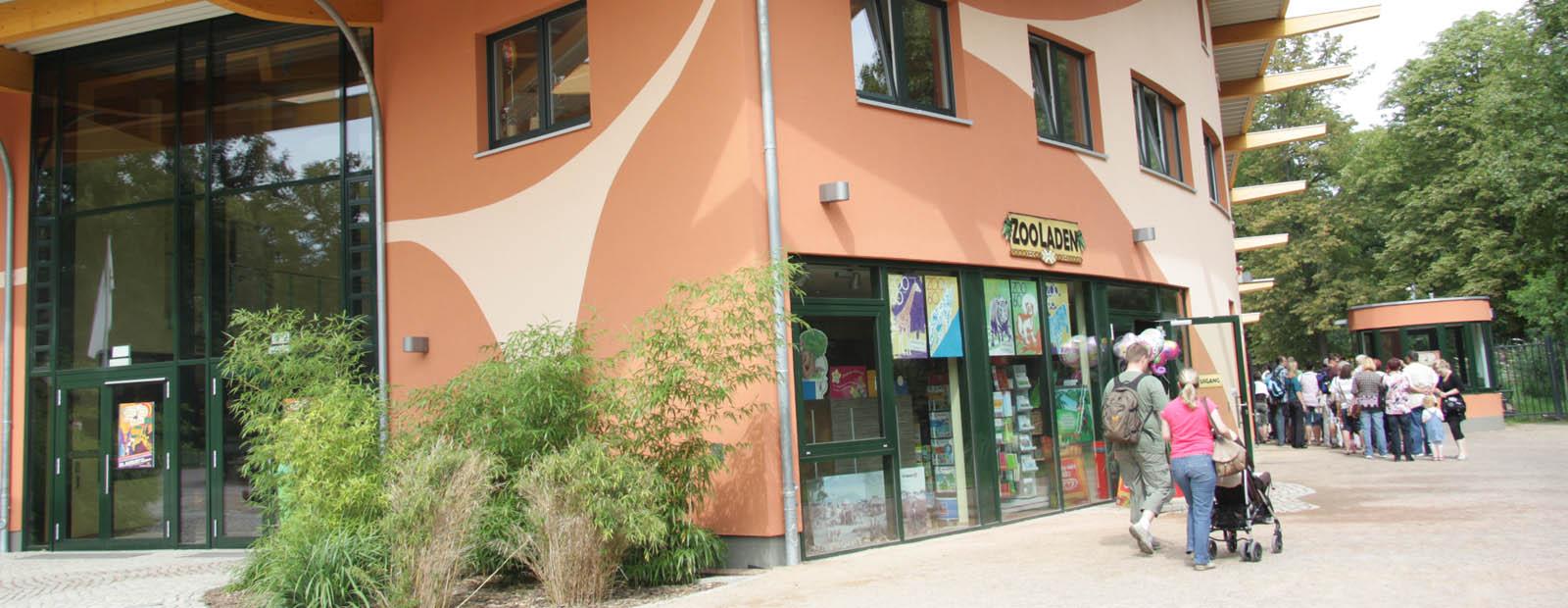 Hauptgebäude Magdeburger Zoo