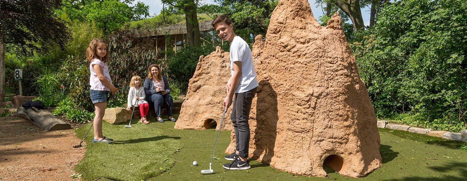 Spass auf der Golfanlage