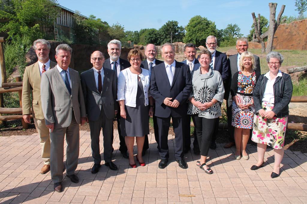 Kabinettsitzung der Landesregierung Sachsen-Anhalts / Staatskanzlei Ines Berger