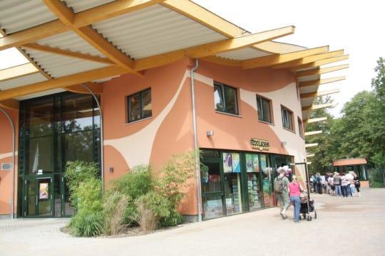Eingang Magdeburger Zoo