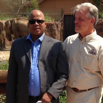 Gespräch mit dem Botschafter Botswanas
