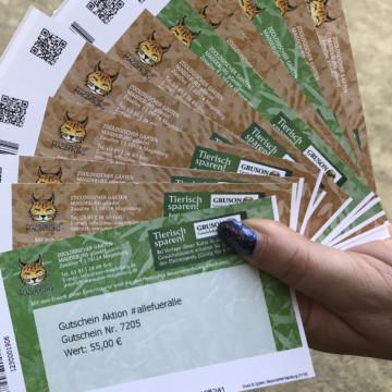 Zoo-Onlineshop wieder erreichbar