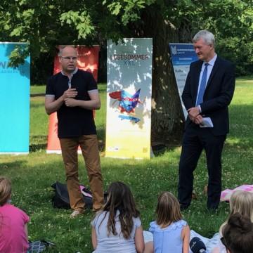 Lesesommer XXL in Sachsen-Anhalt gestartet